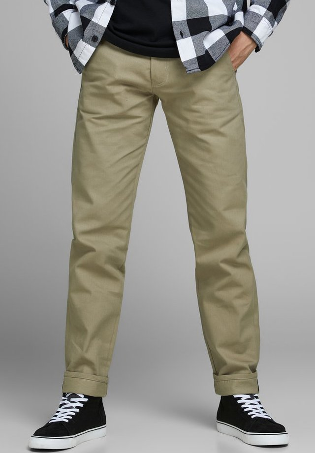 MIKE  - Straight leg jeans - brown