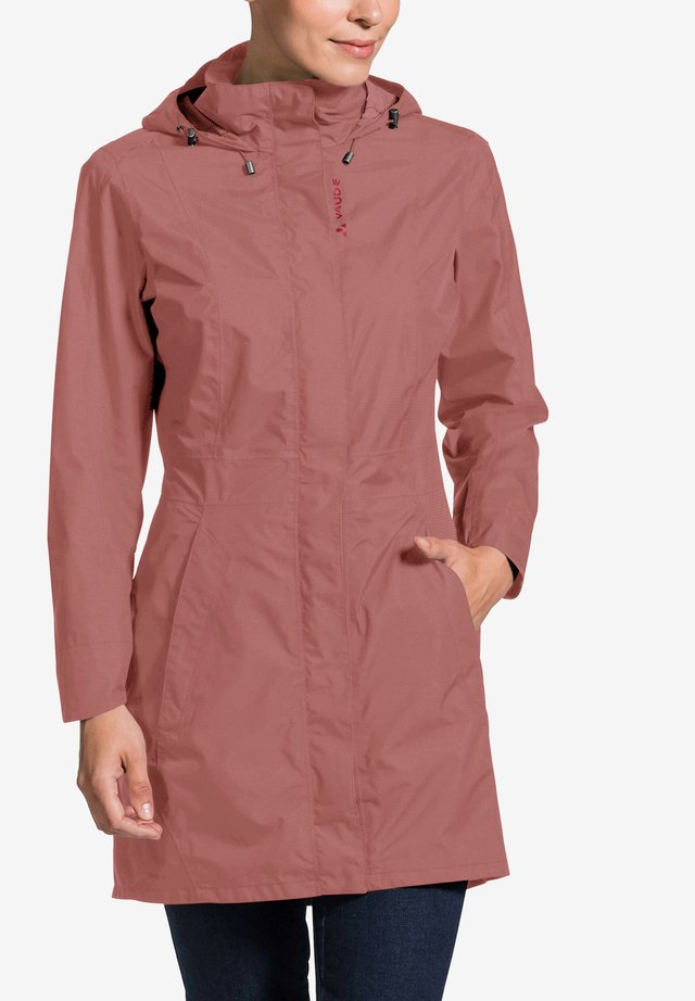 WOMEN'S KAPSIKI COAT - Hardshell jacket - dusty rose