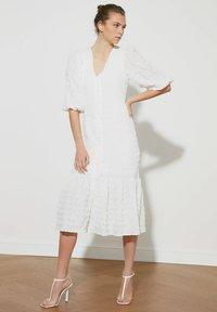 Trendyol - Shirt dress - cream - 1