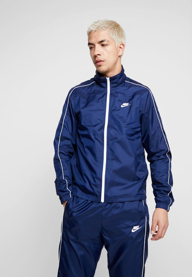 SUIT BASIC - Tracksuit - midnight navy/white