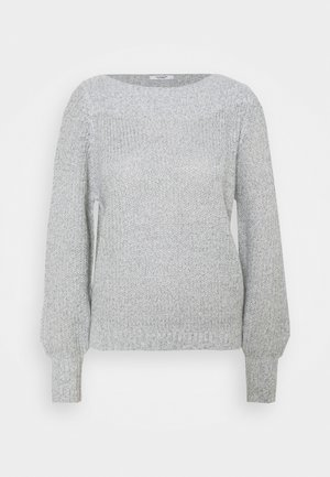 JDYWHITNEY MEGAN - Pullover - cloud dancer/black