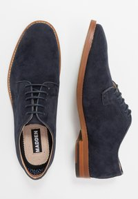 Madden by Steve Madden - EXCESS - Smart lace-ups - navy - 1