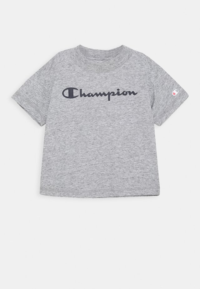 LEGACY AMERICAN CLASSICS CREWNECK CROPTOP - Print T-shirt - mottled grey