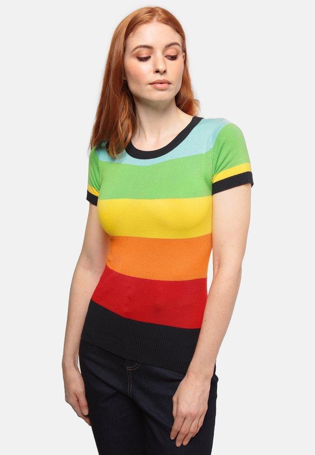 SYDNEY RAINBOW DREAMER - Print T-shirt - multicoloured
