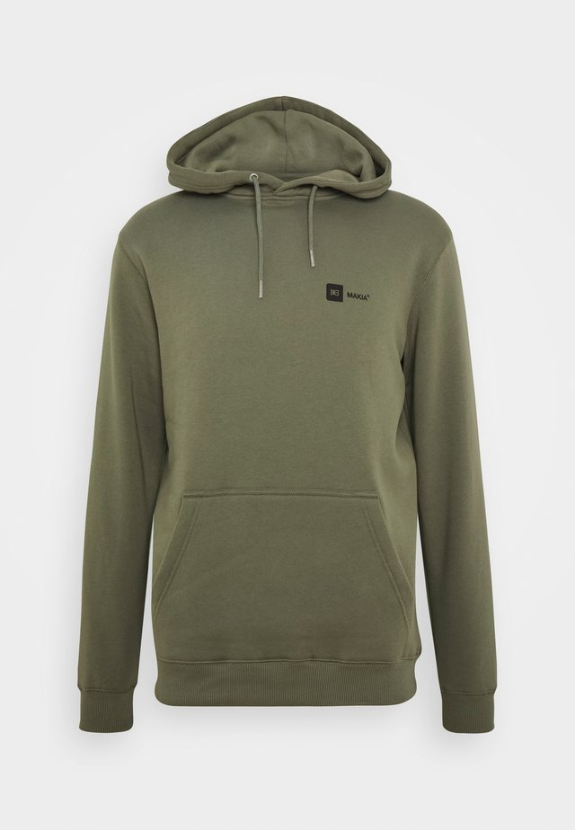 DYLAN HOODED  - Sweat à capuche - olive