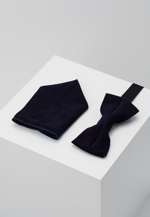 ONSTBOX THEO BOW TIE HANKERCHIEF SET - Fazzoletti da taschino - dark navy