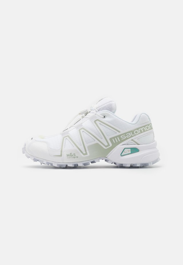 SPEEDCROSS 3 ADV UNISEX - Trainers - white/mineral gray