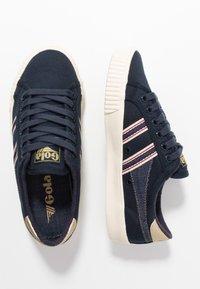 Gola - TENNIS MARK COX SELVEDGE - Sneakersy niskie - navy/indigo - 3