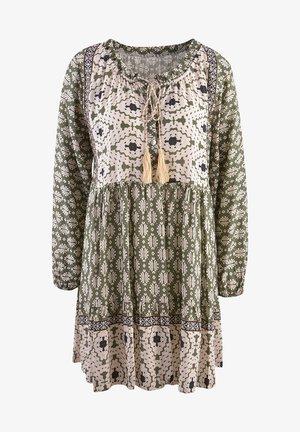 Day dress - oliv print