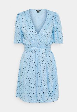 PING DRESS - Kjole - blue light irrydot