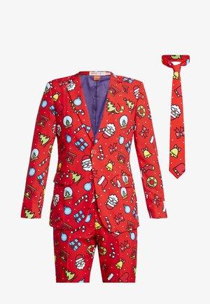 DAPPER DECORATOR - Suit - red