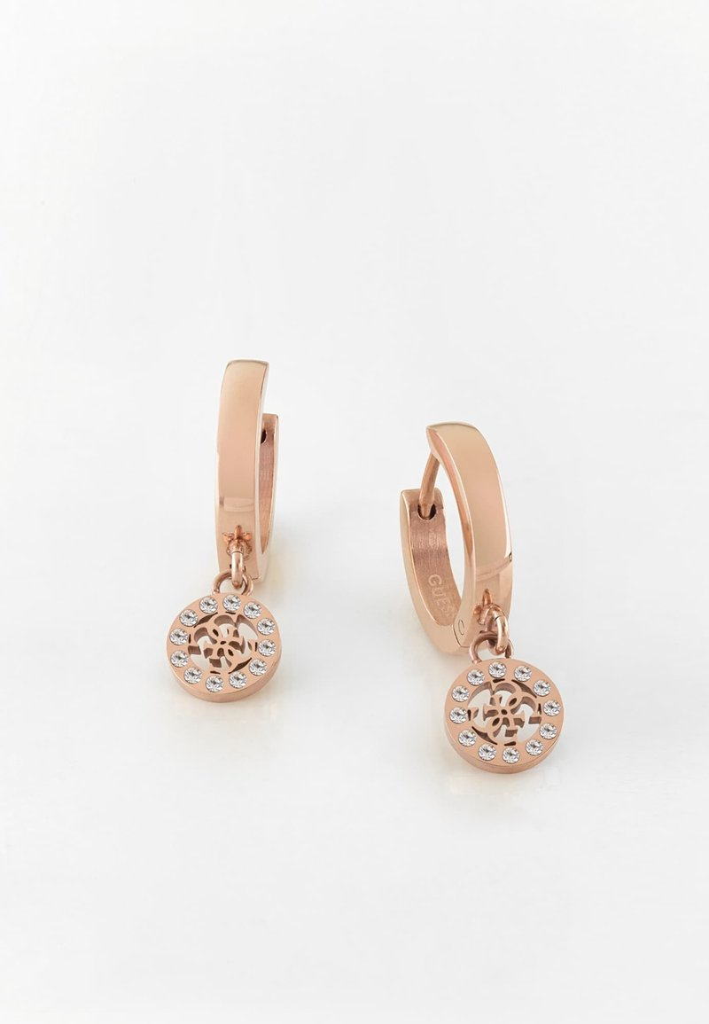 "Guess - BOUCLES D'OREILLES ""GUESS MINIATURE"" - Earrings - rose or"
