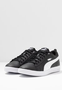 Puma - SMASH - Trainers - black/white - 4