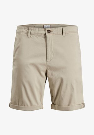 CHINOSHORTS KLASSISCHE - Szorty - white pepper