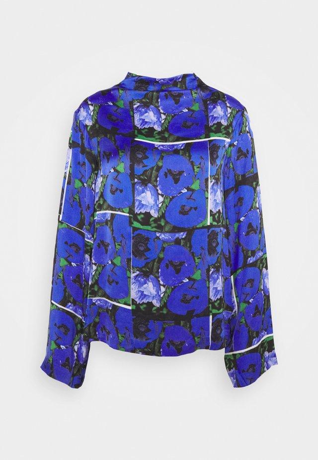 PAISLY - T-shirt à manches longues - blue