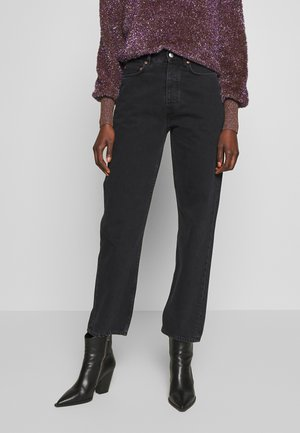 PEARL  - Bootcut jeans - black