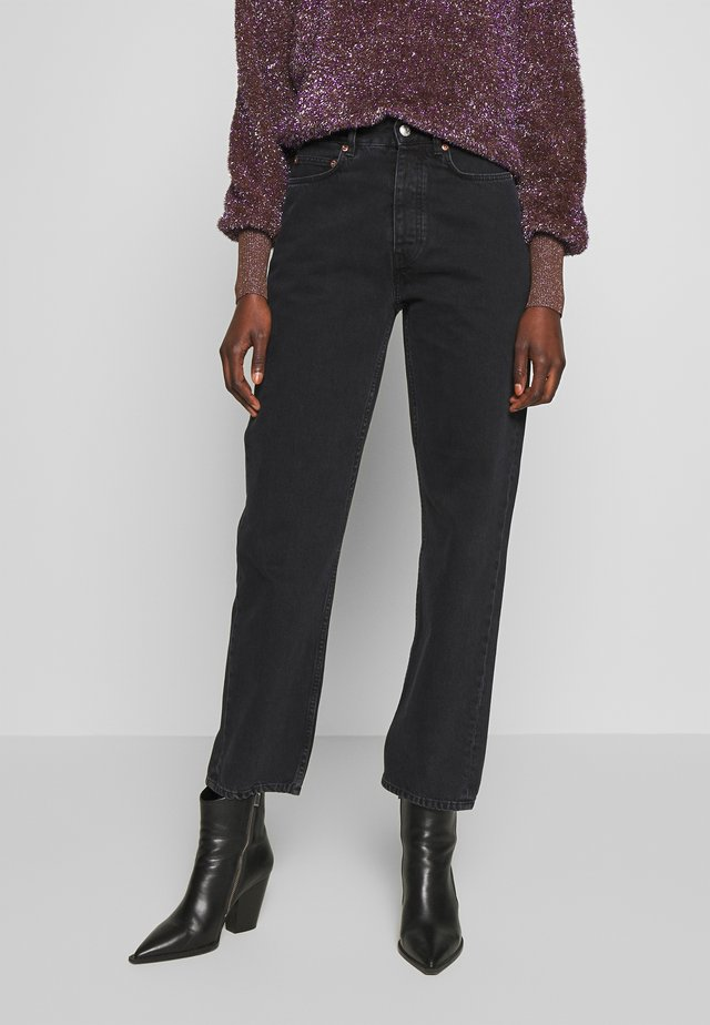 PEARL  - Jeansy Bootcut - black
