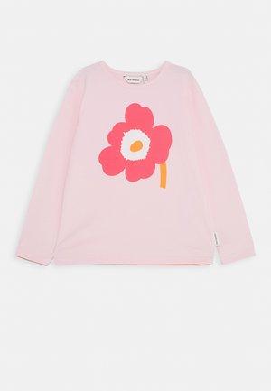 OULI UNIKKO - Long sleeved top - light pink/pink