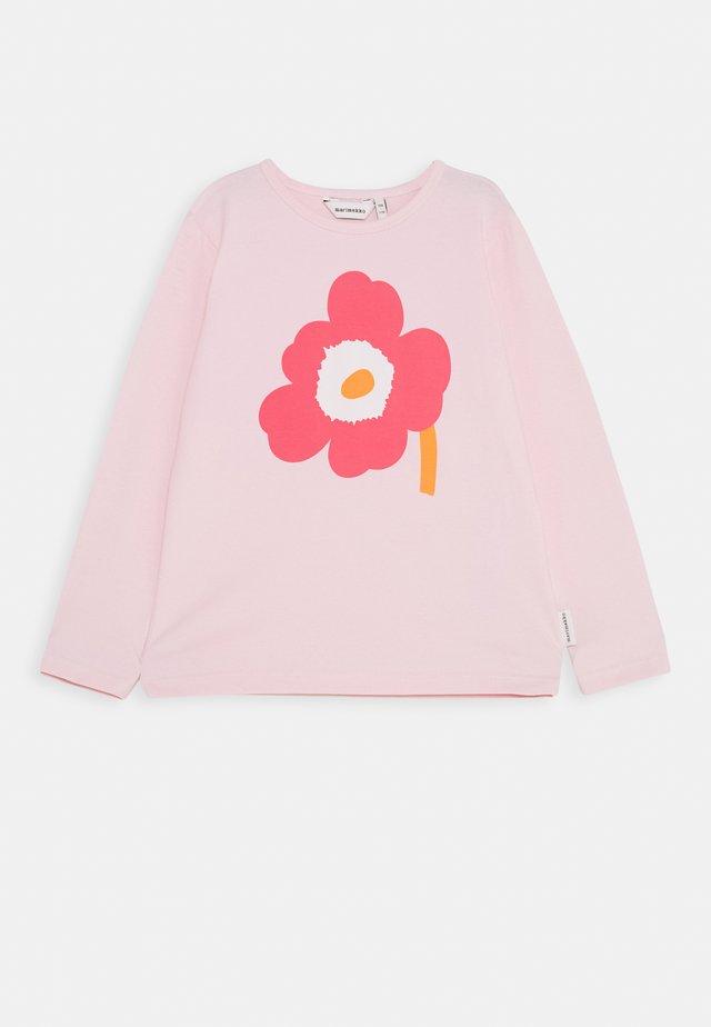 OULI UNIKKO - Pitkähihainen paita - light pink/pink