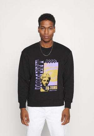 PRINT - Sweatshirt - black