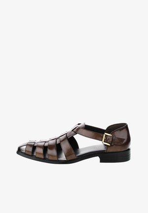 SONDRIO - Sandały - brązowy