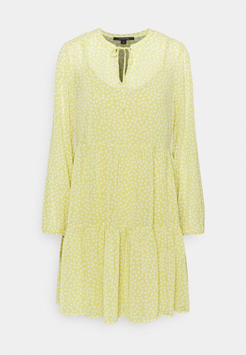 comma - Day dress - light yellow