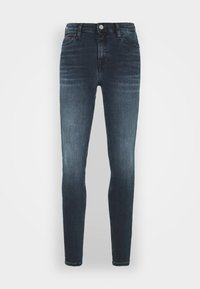 Tommy Jeans - NORA - Jeans Skinny Fit - dark-blue denim - 4