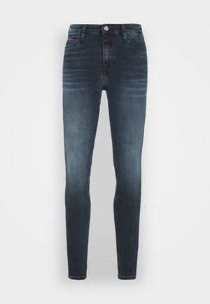 NORA - Vaqueros pitillo - dark-blue denim