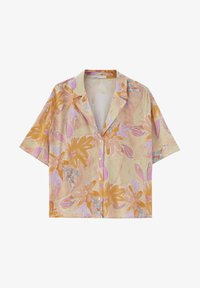 PULL&BEAR - Button-down blouse - orange - 4
