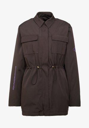 DESK JACKET - Parka - black cotton