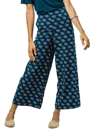 BLOSSOM - Trousers - blue
