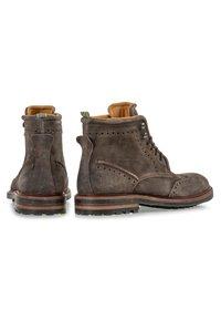 Floris van Bommel - Lace-up ankle boots - taupe - 3