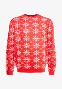 Jack´s Sportswear - XMAS ICEFLOWER - Jumper - red - 4