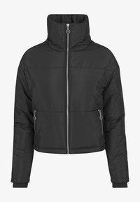 Urban Classics - LADIES OVERSIZED HIGH NECK JACKET - Light jacket - black - 3