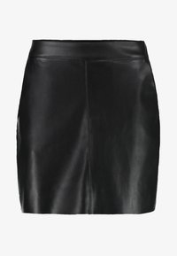 VMYOURS BUTTER SHORT SKIRT - Mini skirt - black