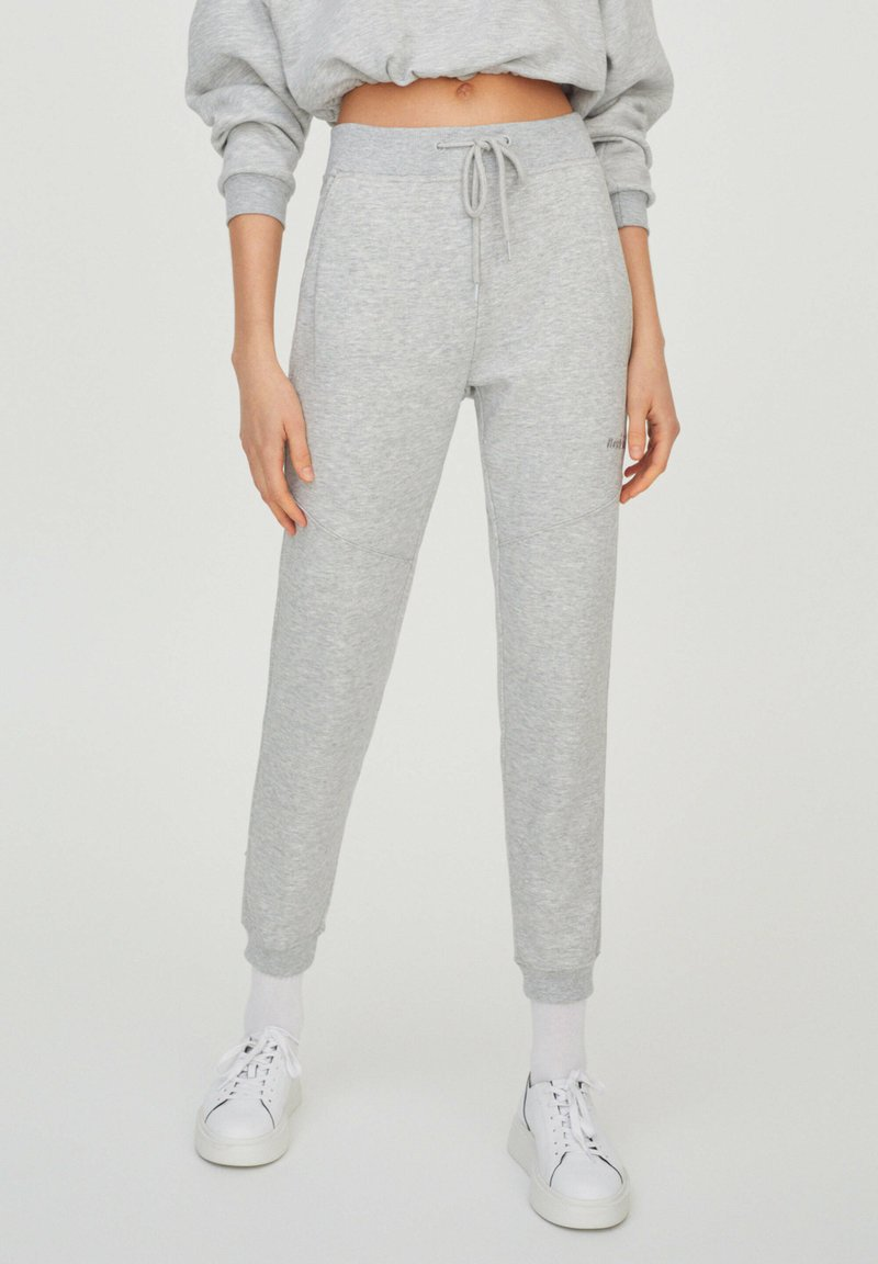 PULL&BEAR - Tracksuit bottoms - grey