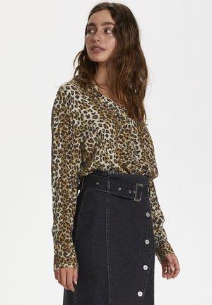 ZAYA - Blouse - beige leopard