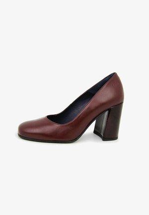 SALÓN KARLEY EN  - Zapatos de plataforma - burdeos