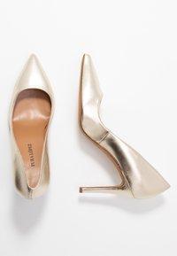 Pura Lopez - Zapatos altos - platin - 3