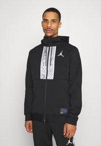 Jordan - AIR FULL ZIP - Zip-up hoodie - black/white - 0