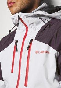 Columbia - WILD CARDJACKET - Snowboard jacket - nimbus grey/dark purple - 7