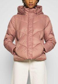 Saint Tropez - CATJASZ SHORT JACKET - Winter jacket - burlwood - 5