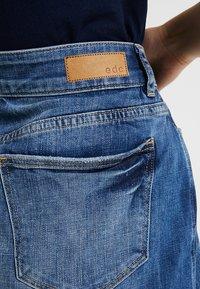 edc by Esprit - MINSKIRT - Denim skirt - blue medium wash - 5