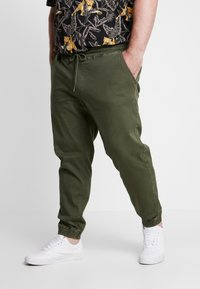 Blend - Trousers - olive night green - 0