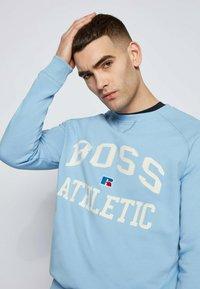 BOSS - STEDMAN_RA - Sweater - open blue - 3