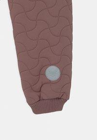 Wheat - THERMO PANTS ALEX UNISEX - Outdoorové kalhoty - dusty lilac - 2