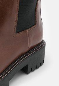 LÄST - ANGIE - Platform boots - brown - 5