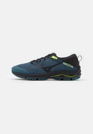 WAVE RIDER TT 2 - Trail running shoes - hydro/phantom/lime punch