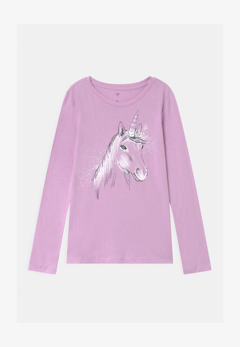 GAP - GIRL - Långärmad tröja - purple rose