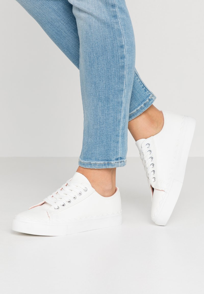 Dorothy Perkins - ICING SCALLOP TRAINER - Joggesko - white